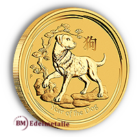 Australien Lunar II in Gold