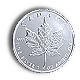 1 Oz Silber - Kanada Maple Leaf