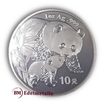 China Panda 2004 Silber